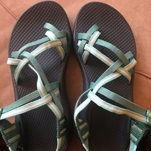 Chacos worn once.
